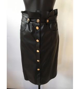 ECOLEATHER - SKIRT-100%PL