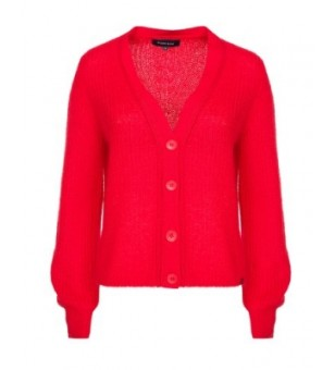 mierte lm 00 cardigan  red