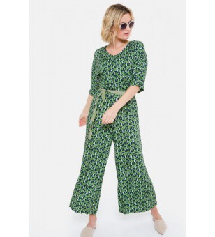 delta 17 jumpsuit 7/8 grass