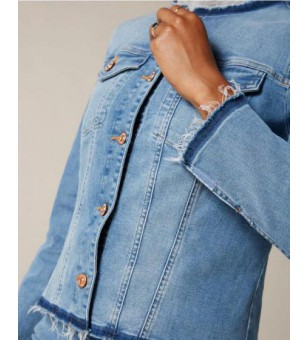 DENIM JACKET Slim Illusion...