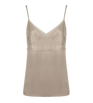 RYLIE 00 BLOES TOP TAUPE